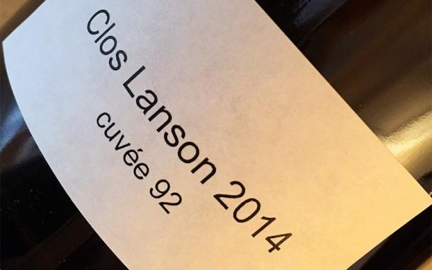 Clos Lanson 2014