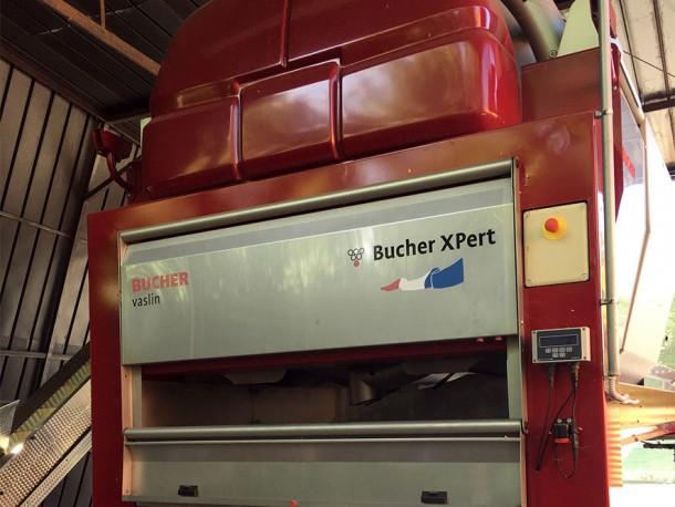 La pressa pneumatica Bucher
