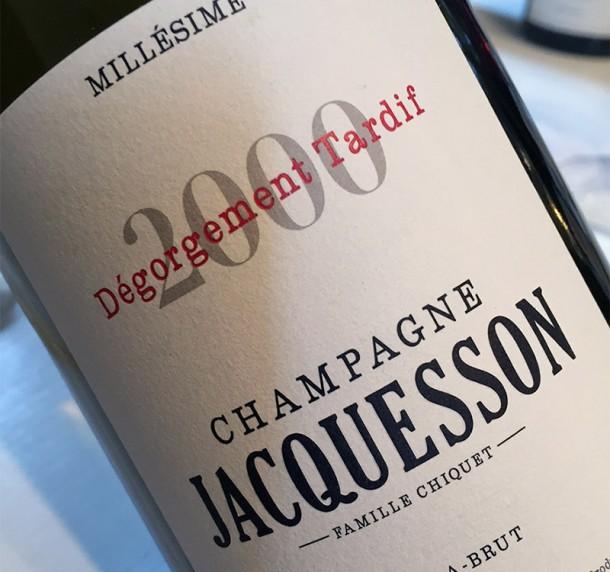 Jacquesson Millésime 2000 DT
