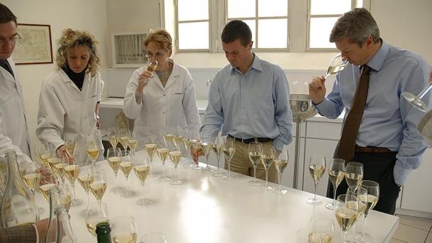Assemblaggio champagne