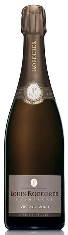 Bottiglia di Louis Roederer brut Vintage 2009