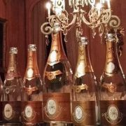 verticale champagne Cristal