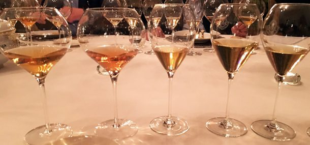 Cristal champagne verticale