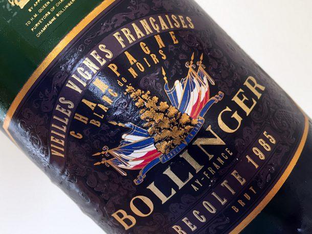 Champagne Bollinger Vieilles Vignes Françaises 1985