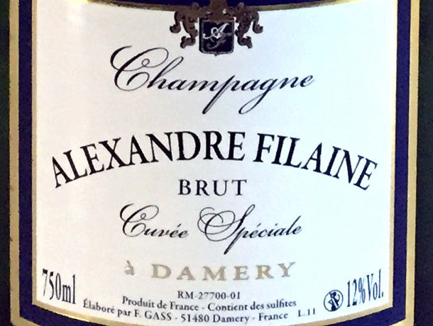 champagne alexandre filaine brut