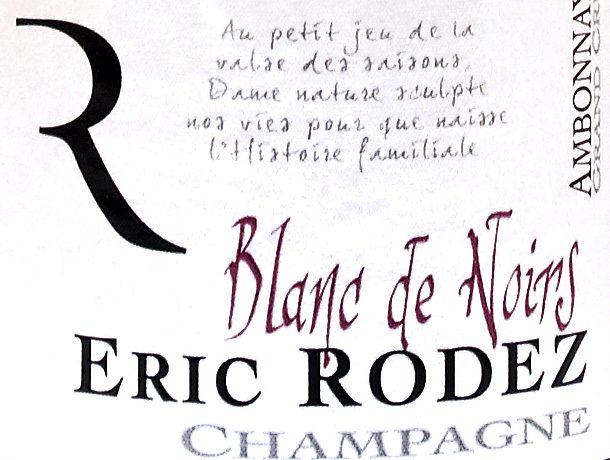 champagne eric rodez blanc de noirs