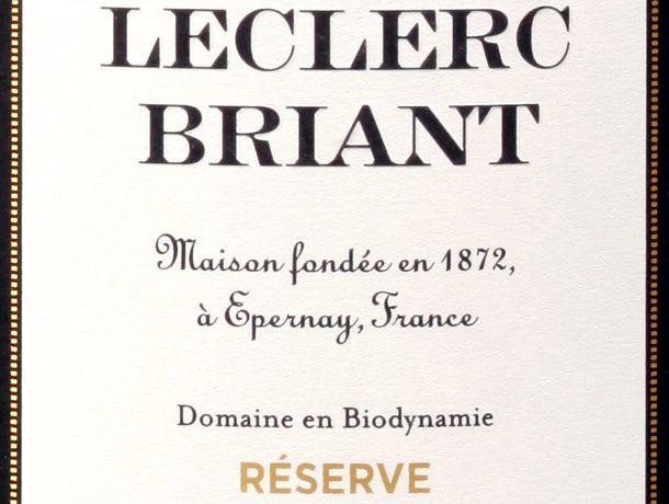 champagne leclerc reserve brut