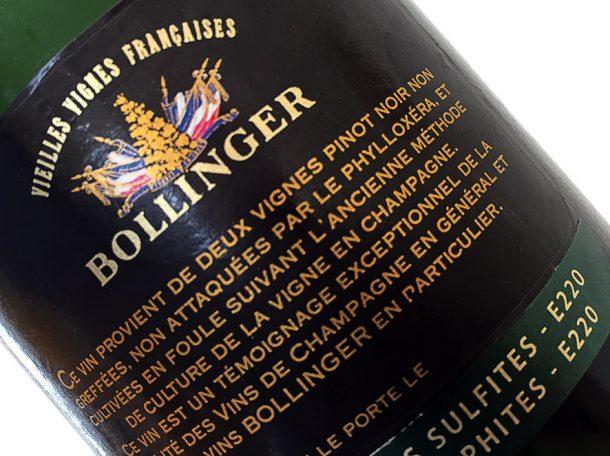 controetichetta Bollinger