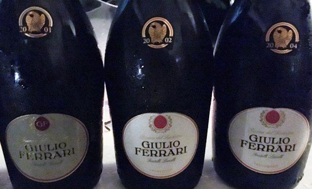Giulio Ferrari annate 2001, 2002 e 2004