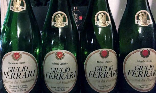 Giulio Ferrari annate 1976, 1982, 1983 e 1988