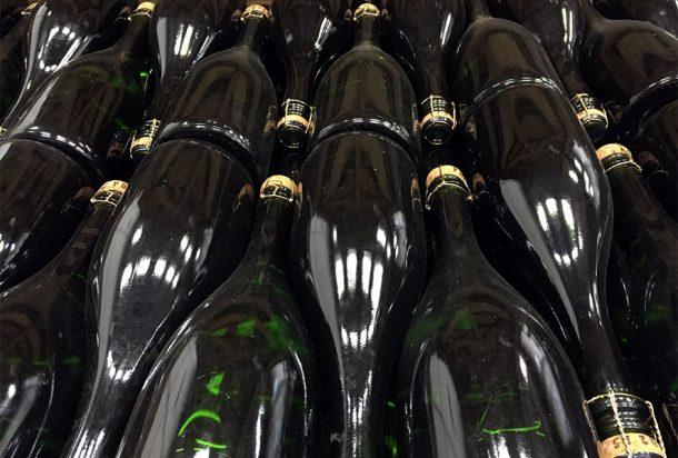 Champagne Bruno Paillard, riposo dopo dégorgement e dosaggio