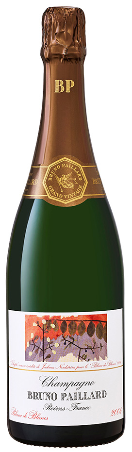 Bottiglia di Champagne Blanc de blancs 2006