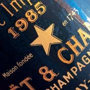 Degustazione champagne Moet & Chandon Brut Impérial Vintage 1985