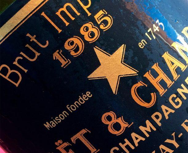 Champagne Moet & Chandon Brut Impérial Vintage 1985