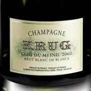 Champagne Krug Clos du Mesnil 2002