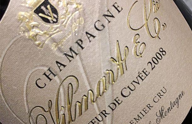 champagne Vilmart Cœur de cuvée 2008