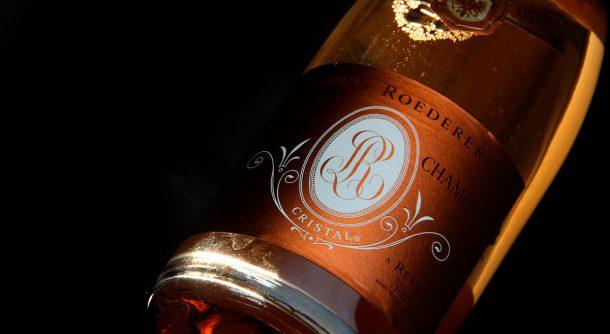 Champagne Cristal rosé 2009