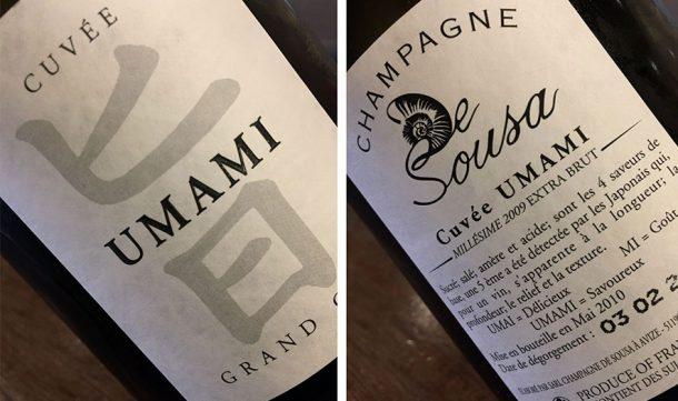 champagne De Sousa Cuvée Umami
