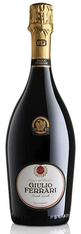 Bottiglia di Giulio Ferrari 2005