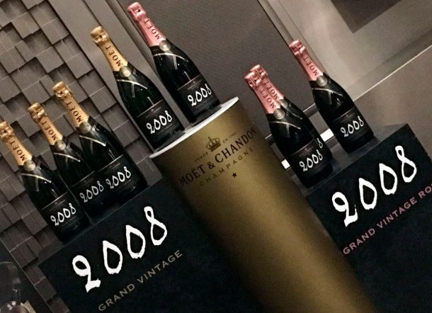 Moët & Chandon degustazione champagne Grand Vintage 2008