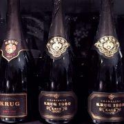 Degustazione champagne Krug varie annate