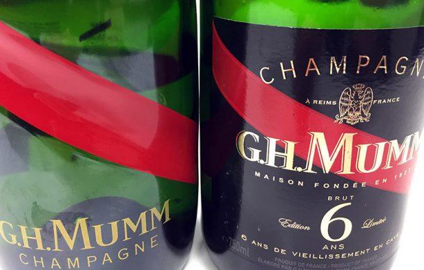 champagne mumm édition limitée 6 ans