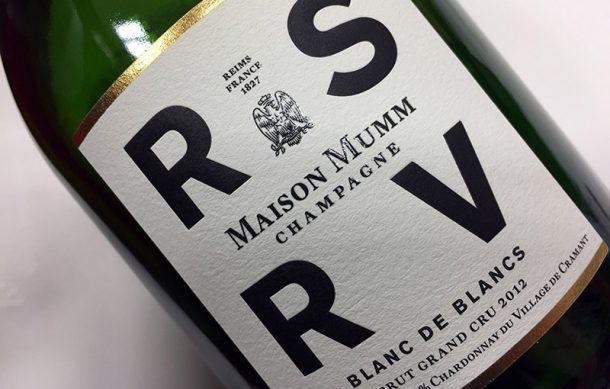 Mumm RSRV blanc de blancs 2012