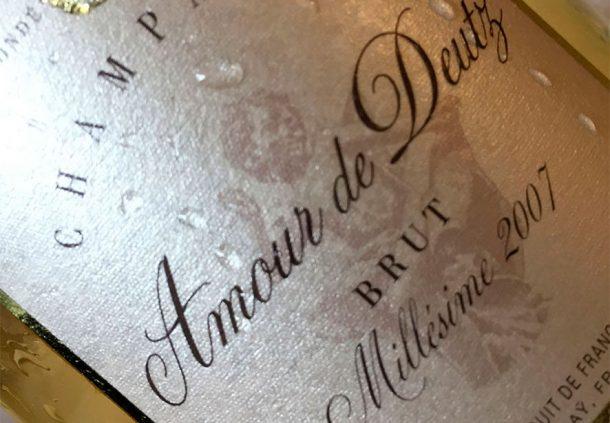 Champagne Amour de Deutz 2007