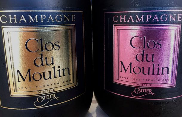 Cattier Clos du Moulin e Rosé