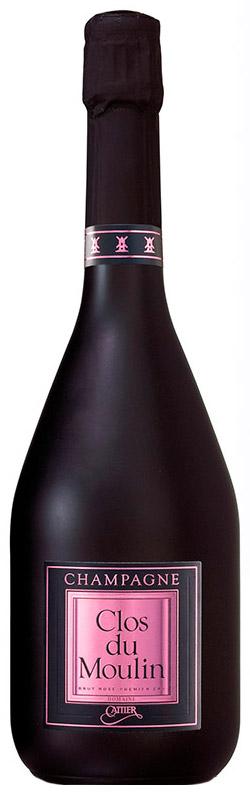 Bottiglia Champagne Cattier Clos du Moulin Rosé
