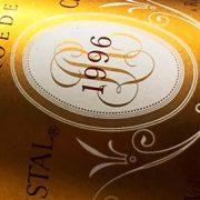 champagne Cristal 1996