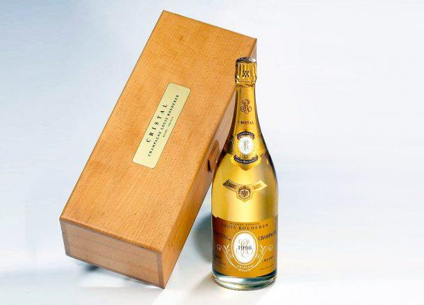 champagne Cristal1996
