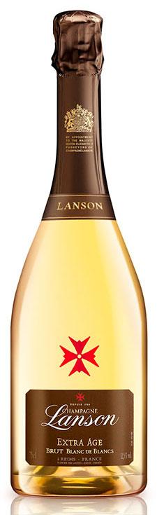 Bottiglia Lanson Extra Age Blanc de Blancs