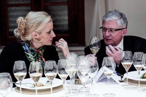 Dominga Cotarella e Hervé Deschamps