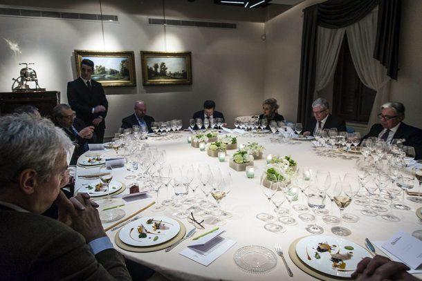Degustazione champagne con cena all'Enoteca Pinchiorri