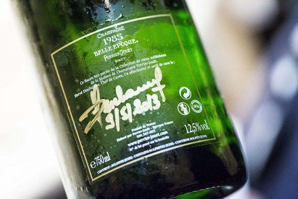 controetichetta 1985 champagne belle epoque