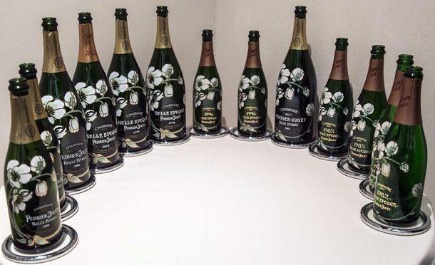 Verticale champagne Belle Epoque
