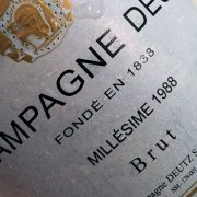 Millésime 1988 Vinothèque Deutz