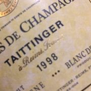 Taittinger Comtes de champagne 1998 Blanc de Blancs