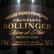 Bollinger Vieilles Vignes Françaises 2000