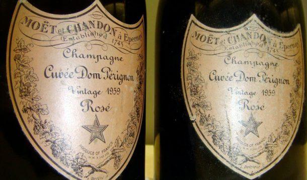 Il primo Dom Pérignon Rosé della storia