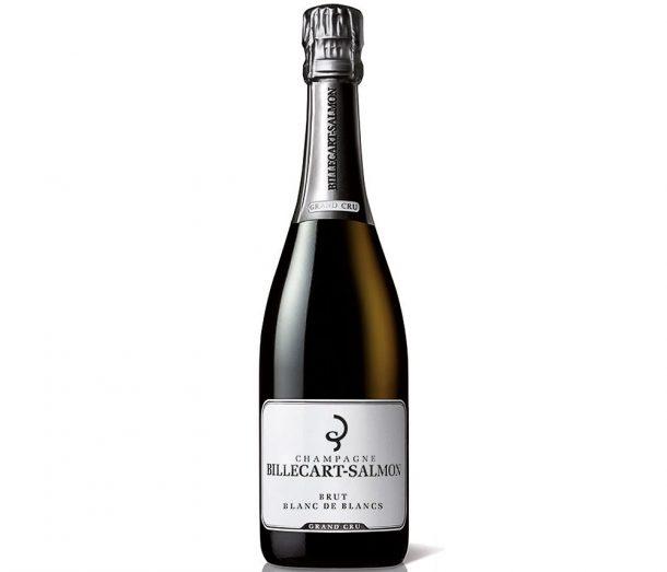 Bottiglia di champagne Billerait Salmon blanc de blancs