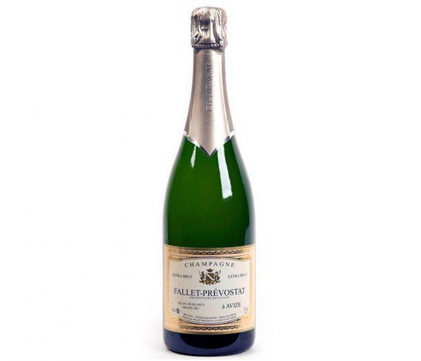 Bottiglia di champagne Fallet Pressostat blanc de blancs