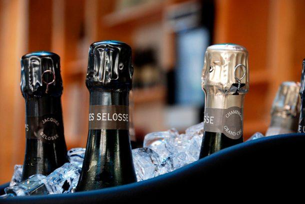 Degustazione champagne Selosse