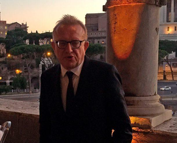 Richard Geoffroy e i Fori Imperiali a Roma