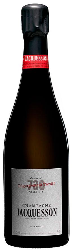 Bottiglia jacquesson cuvee 736 DT