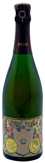 Bottiglia Jacquesson Blanc de Blancs 1969