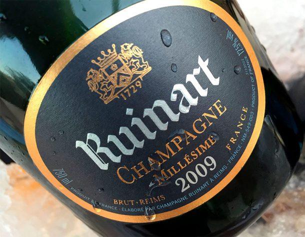 """Champagne """"R"""" de Ruinart 2009"""
