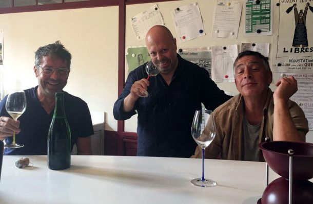 Pascal Agrapart, Fabrice Gass e Alberto Lupetti