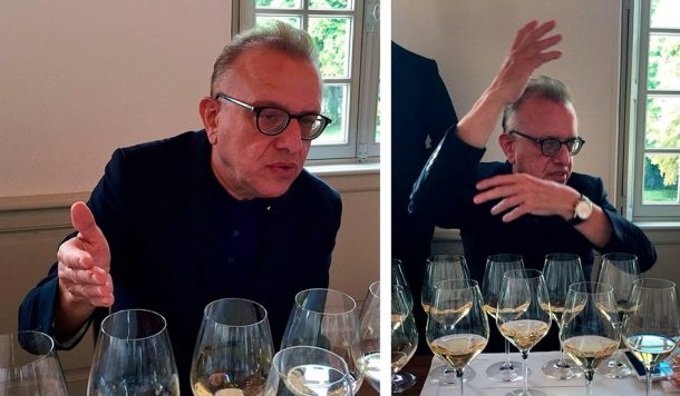 Richard Geoffroy chef de cave Dom Pérignon